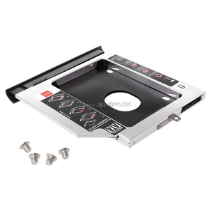 Image 1 - Yeni 2nd SSD hdd sabit disk Caddy tepsi braketi Lenovo Ideapad 320 320C 520 330 330 14/15/17 Dropship