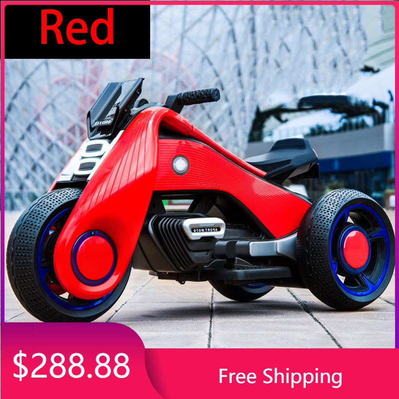 Детский трехколесный мотоцикл 2 -9, Детский Электрический мотоцикл с двойным приводом для мальчиков и девочек. Товары в наличии Unlimited Cn (проис...