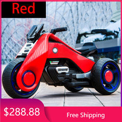 's 2 -9 Tricycle Children 's Electric Motorcycle Car Boys and Girls Children Dual Drive. Goods in Stock Unlimited Cn(origin)