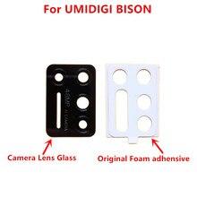 New UMIDIGI BISON Back Camera Lens 100% Original Rear Camera Lens Glass Replacement Accessories For UMIDIGI BISON Phone
