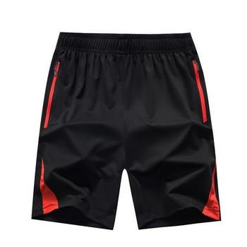 Summer Mens Shorts New Polyester Shorts Man Breathable Elastic Waist Casual Men Shorts Male Bermuda Homme Big Size M-8XL Men's Bottoms