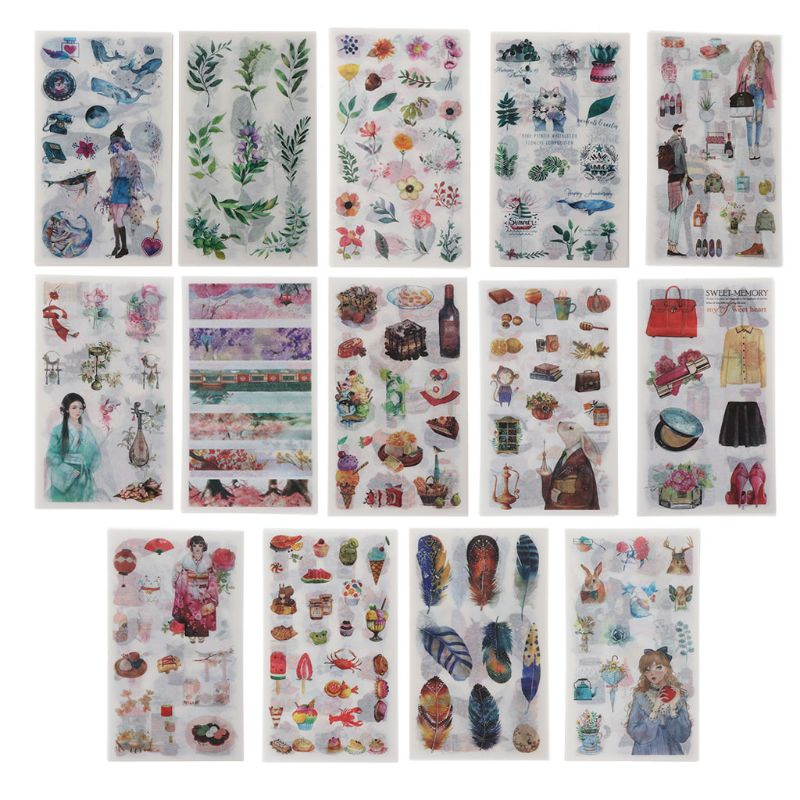Flower Leaves Resin Stickers Mold Frame Fillers Material Jewelry Making
