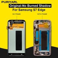 100% AAA Super AMOLED หน้าจอสำหรับ Samsung Galaxy S7 Edge G935F G935FD จอแสดงผล LCD Touch Screen Digitizer เปลี่ยน