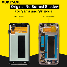 100% AAA Super AMOLED Screen For Samsung Galaxy S7 Edge G935F G935FD LCD Display Touch Screen Digitizer Repair Replacement
