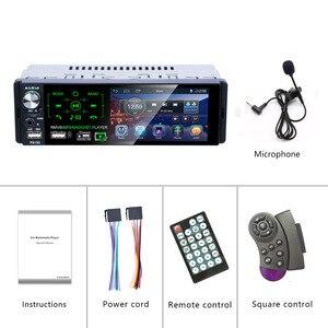 "Image 5 - Podofo 4.1"" Touch Bluetooth Car Radio 1 Din Autoradio Stereo Audio MP5 Video Player USB MP3 TF ISO In dash Multimedia Player"
