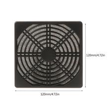 Pyłoszczelna 120mm wentylator obudowy filtr pyłowy osłona osłona na grilla pokrywa na PC Compute tanie tanio OPEN-SMART NONE CN (pochodzenie) 587B4NB402091