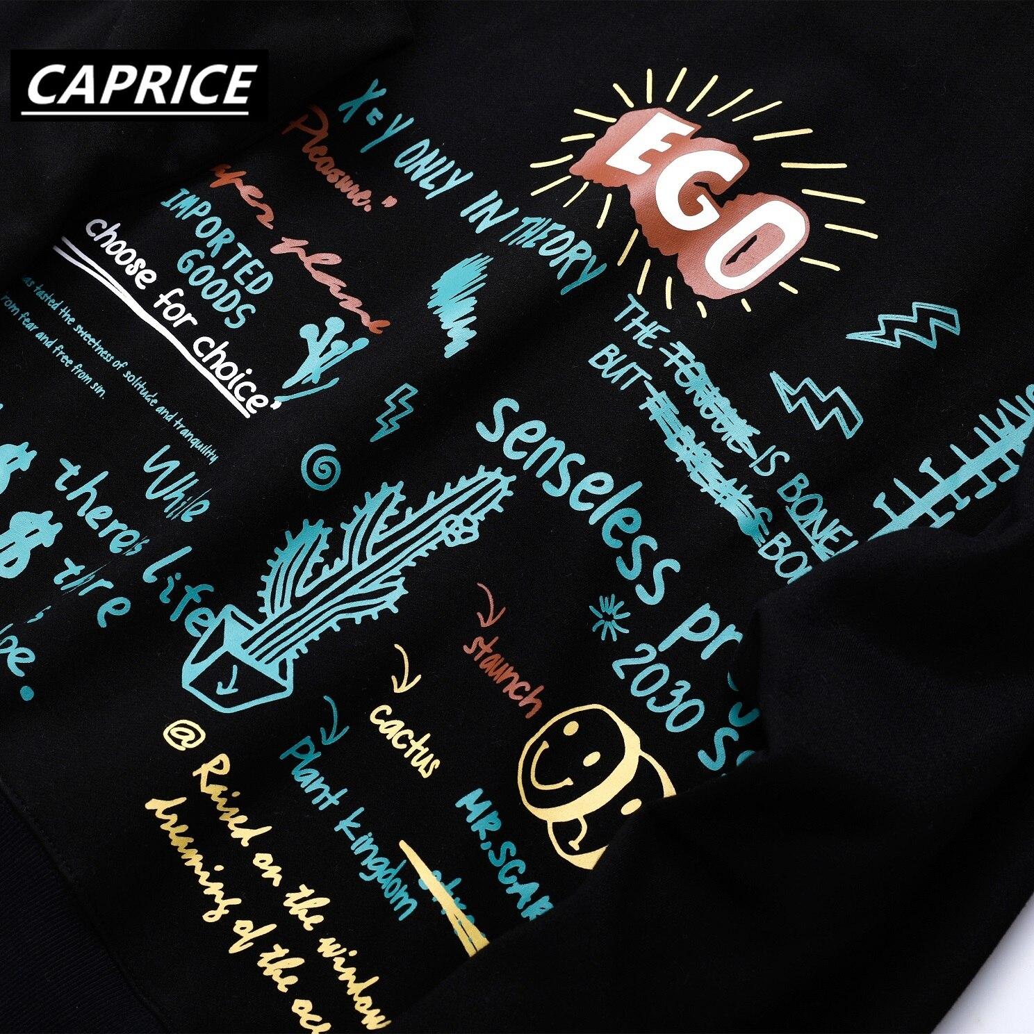 2019 Harajuku Graffiti Hoodie Sweatshirt Men Hip Hop Hooded Pullover Streetwear Hipster Print Autumn Fashion Loose Hoodie Cotton in Hoodies amp Sweatshirts from Men 39 s Clothing