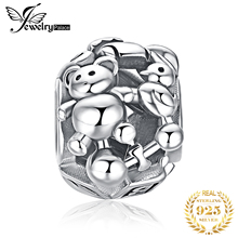 JewelryPalace Doll Bear 925 Sterling Silver Beads Charms Original For Bracelet original Jewelry Making
