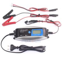 FOXSUR 6V 12V Motorcycle & Car Automatic Smart Waterproof Battery Charger EFB AGM GEL Pulse Repair Battery Charger(China)