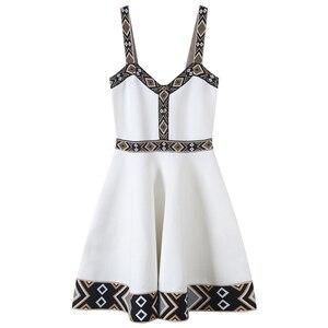Женское вечернее платье с v-образным вырезом, элегантный клетчатый сарафан на молнии, летнее трикотажное платье, 2020