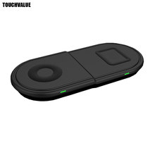 Multi-functional Wireless Charger For Mobile Phone Smart Watch Bluetooth Earphone Charger Adapter Protable(China)