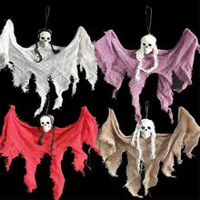 New Arrival 30cm Halloween Hanging Ghost Huanted House Decoration Grim Reaper Horro Props Home Door Bar Halloween Decorations