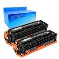 2BK 312A CF380A Черный тонер-картридж для HP312A CF381A CF382A CF383A для HP LaserJet Pro MFP M476DW M476NW CF387A CF385A