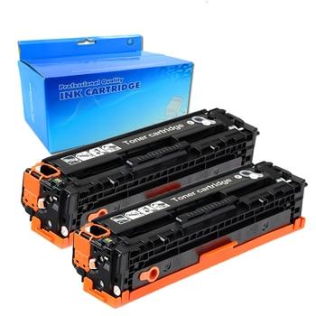 2BK 312A CF380A için siyah Toner kartuşu HP312A CF381A CF382A CF383A HP LaserJet Pro MFP M476DW M476NW CF387A CF385A
