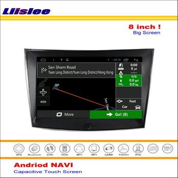 Car Android GPS Navigation System For SsangYong Tivoli Tivolan 2015 2016 - Radio Stereo Audio Video Multimedia No DVD Player image