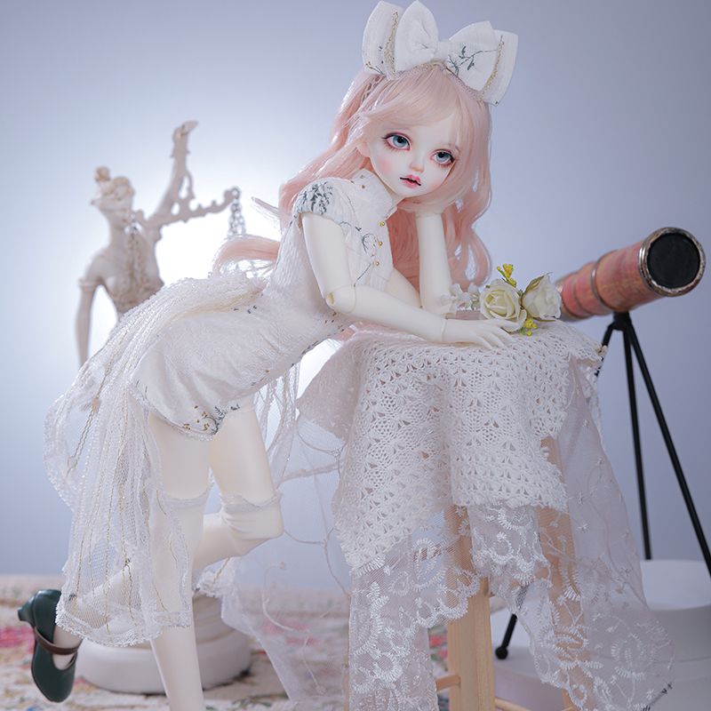 Satani 1/4 BJD Puppe Kleine Juwel 42cm minifee msd Harz Spielzeug luts fullset dollzone jiont lalaloopsy fid obitsu