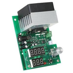 Image 3 - Carga electrónica de corriente constante multifuncional 9.99A 60W 30V descarga módulo probador de capacidad de batería de alimentación