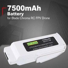 Novo compacto 11.1v 7500mah bateria lipo recarregável lipolímero bateria para lâmina chroma zangão rc fpv