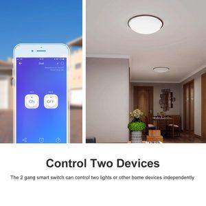 Image 2 - Itead SONOFF כפול אלחוטי Wifi 2 כנופיית מתג ממסר מודול DIY מרחוק Controll Wifi מתג 220V עובד עם Alexa google בית