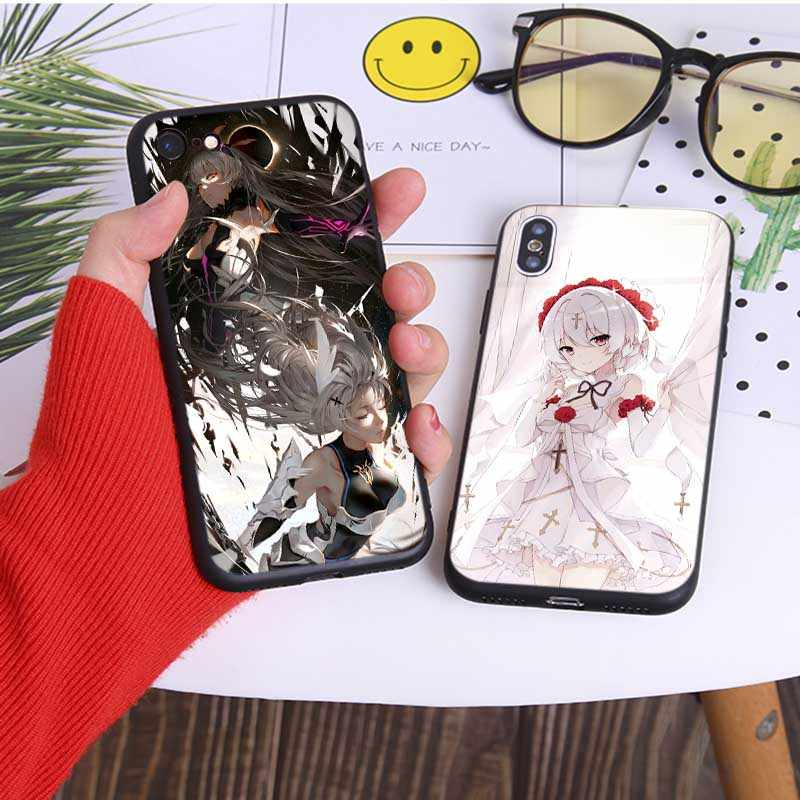 Soft Silicone Phone Case for iPhone 7 11 11 pro 11 pro max XR X 6S 8 XS MAX 6 7 8 plus SE 5S honkai impact 3rd