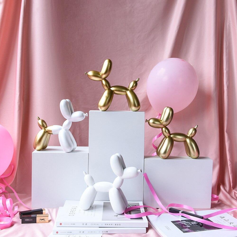 Купить воздушный шар собака статуя домашний декор животное абстрактная