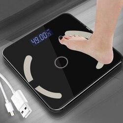 Wagi łazienkowe Bluetooth wagi podłogowe waga elektroniczna pomiar Smart Bluetooth SE47100 w Waga łazienkowa od Dom i ogród na