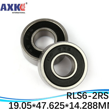 """10pcs High Quality inch series bearing RLS6-2RS 19.05*47.625*14.288 mm 3/4""""X 1 7/8""""X 9/16""""  inch ball bearing"""