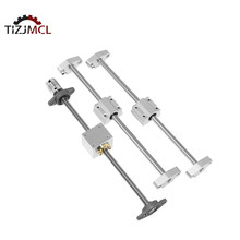 3D printer parts T8 Lead Screw Lead+Optical axis+KFL08 bearing bracket +housing mounting bracket Guide for CNC Linear Guide Rail