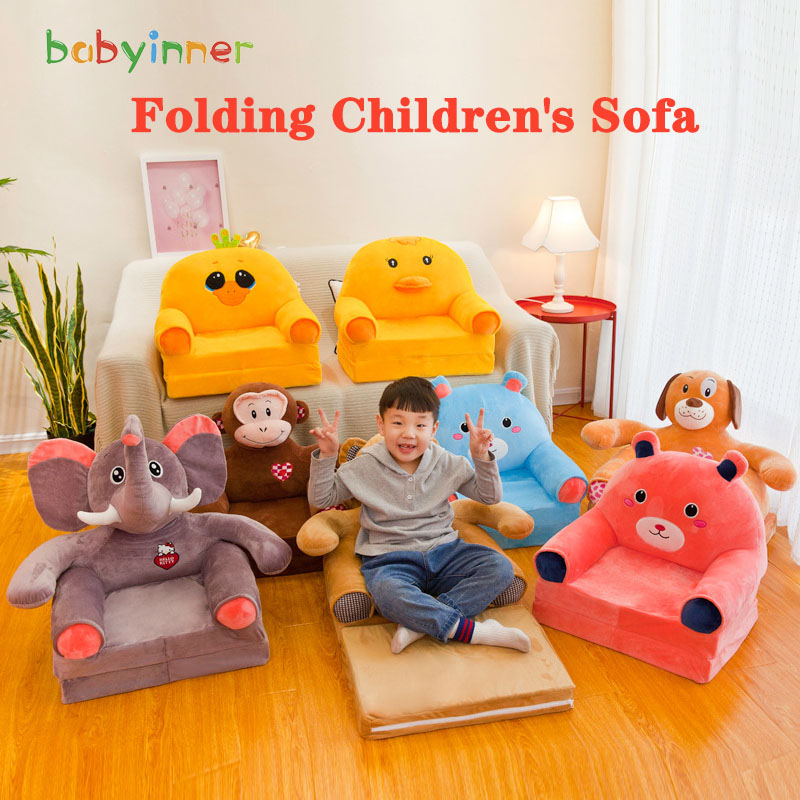 Toys Chair Sofa Plush-Seat Babyinner Infant PP Cotton Support Feeding-Cradle Educational-Doll