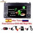 Автомобильный DVD-плеер с 7 дюймовым IPS сенсорным экраном Android 10,0 для Mercedes-Benz B200 W169 A160 Viano Vito GPS NAVI RADIO BT wifi 3G dvr map