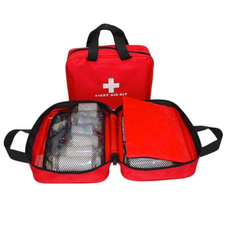 Аптечка первой помощи, большая Автомобильная Аптечка первой помощи, большой открытый аварийный комплект, сумка для путешествий, кемпинга, в...