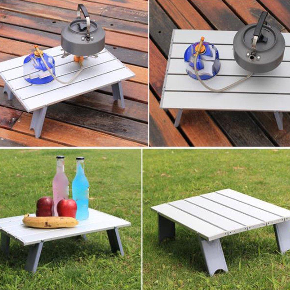 Алюминиевый уличный складной стол портативный складной стол мини стол небольшой стол для пикника ноутбук алюминиевый стол
