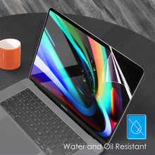 Protetor de tela para macbook pro 13 polegada a2289 plástico hd tela filme adesivo para macbook ar pro 11 12 13 15 16 polegada 2020 a2179