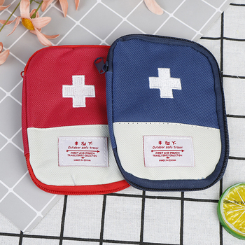 Medical Bag Outdoor Travel First Aid Kit Mini Car First Aid Kit Bag Home Small Medical Box Emergency Survival Kit Home Rescue image