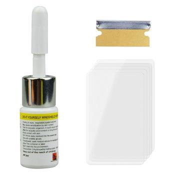 Kit de herramientas para reparar arañazos de cristal, 1 unidad, Nano líquido de reparación DIY, herramientas para reparar ventanas, pantallas, vidrio pulido, pegamento para curado, TSLM1