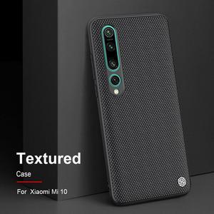 Image 1 - Nillkin Nylon PC Plastic Back Cover for Xiaomi Mi 10 Textured Case protector cover For Xiaomi Mi 10 pro