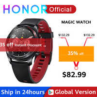 Global Version Honor Magic Watch SmartWatch Heart Rate WaterProof Tracker Sleep Tracker GPS WorkingPhone Call For Android iOS
