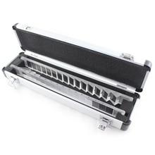 Prism Bar Set, Prism Set mit Einem Stück von Horizontale Typ und Ein Stück von Vertikalen Typ, verpackt mit Aluminium Fall