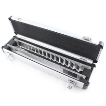 Prism Bar Set, Prism Set with One Piece of Horizontal Type and One Piece of Vertical Type,Packed with Aluminium Case