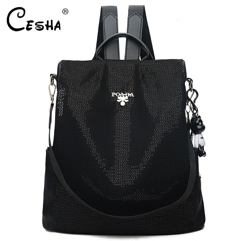 Fashion Anti Theft Women School Backpack Durable Waterproof Oxford School Bag Pretty Style Girls Schoolbag Backpack Mochila