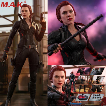 1/6 Scale Full Set Action Figure Model HotToys HT MMS533 Endgame Black Widow  Figure Doll Toy [show z store] nbk devastator tf engineering full set of 6 yellow version transformation action figure