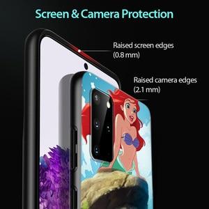 Image 4 - Disney Cartoon Animation The Little Mermaid For Samsung Galaxy A31 A51 A71 A91 A12 A32 A42 A52 A72 A02S TPU Silicone Phone Case