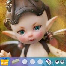Nova chegada bjd bonecas realpuki mimi titi bjd bonecas 1/13fairyland corpo articulado resina boneca brinquedos para o presente de aniversário da menina