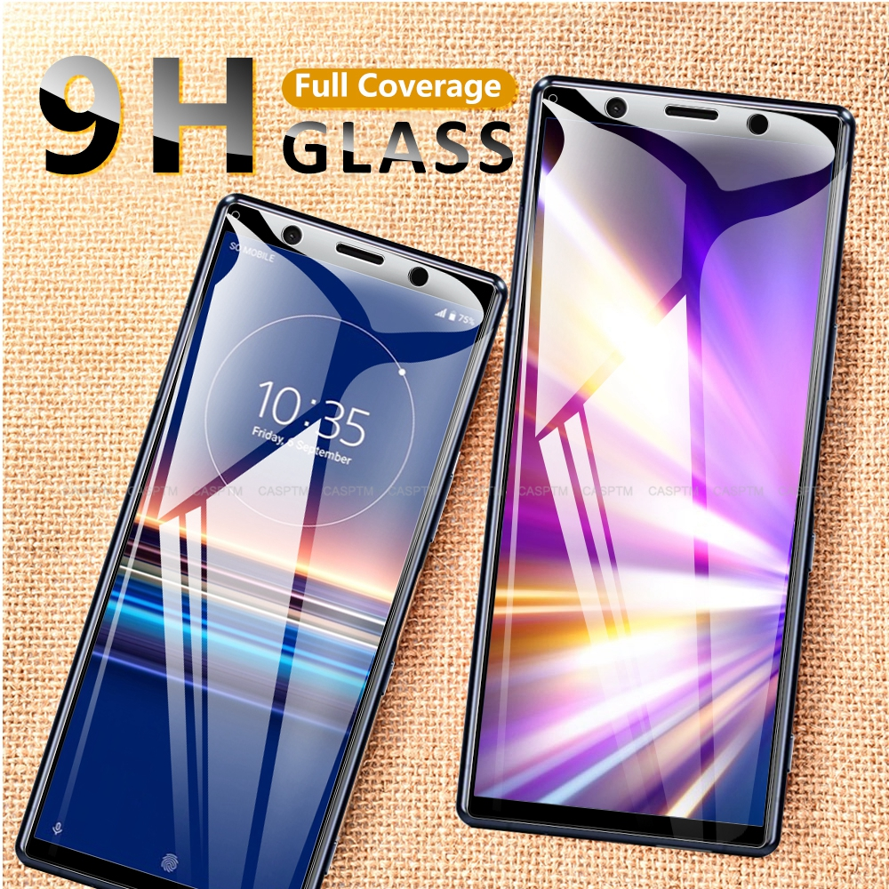 9H Hardness Full Cover Tempered Glass For Sony Xperia 5 Xperia 8 XA1 L3 Screen Protector Protective Film For SONY Xperia XZ XZS