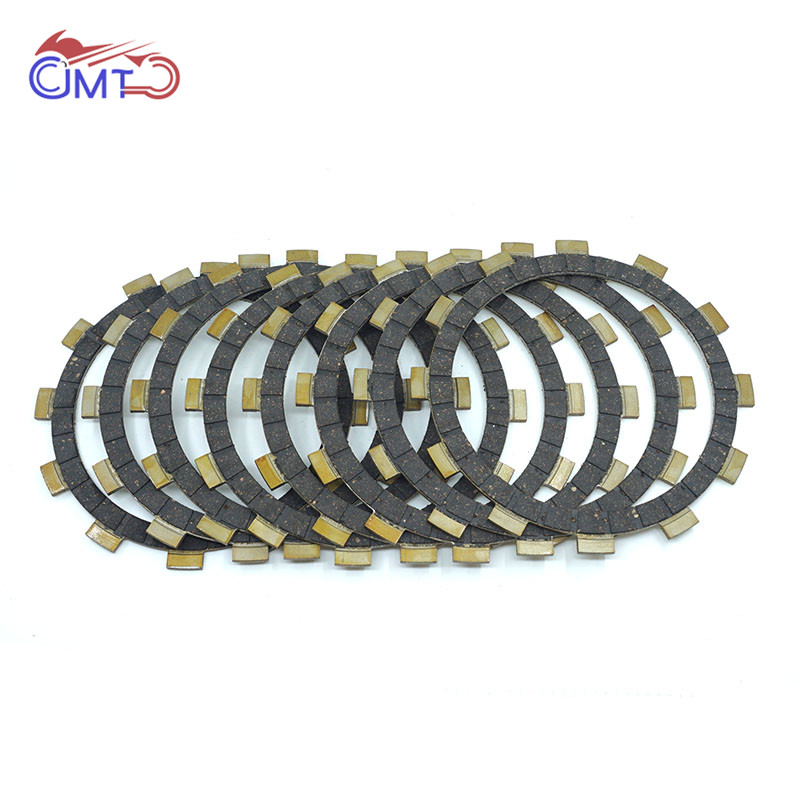 For Yamaha YZ125 1993-2020 Dirt Bike Vintage Motocorss Clutch Friction Disc Plate Kit 8P Set 2017 2016 2015 2014 2013 2012 2011 image
