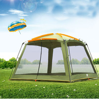 New Style Good Quality 4 Corners Garden Arbor/Multiplayer Leisure Party Camping Tent/Awning Shelter Barbecue Tent Carpas
