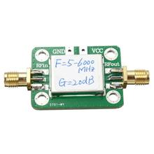 5 6000MHZ Gain 20dB RF Module amplificateur de puissance à bande Ultra large avec coque