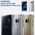 Оригинальный прозрачный чехол из ТПУ для Samsung Galaxy S7 G9300 S7edge G9350  защитный чехол для телефона