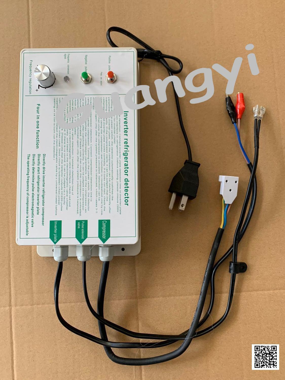 English Version Inverter Refrigerator Compressor Detector Tester Refrigerator Repair Tool Pulse Solenoid Valve Detection