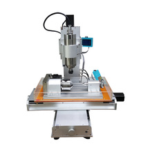 New arrival 5 axis CNC wood carving machine Precision Ball Screw cnc router 3040 milling machine цена 2017